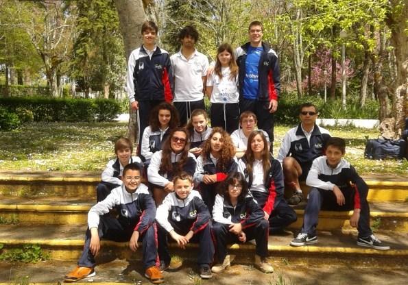 O CLAC na 1ª Prova do Calendário Regional de Natação 2013/2014