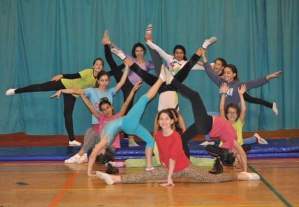 GINÁSTICA do CLAC 2013/2014, coordenação e alegria em movimento