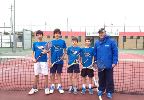 A nova geração de tenistas do CLAC