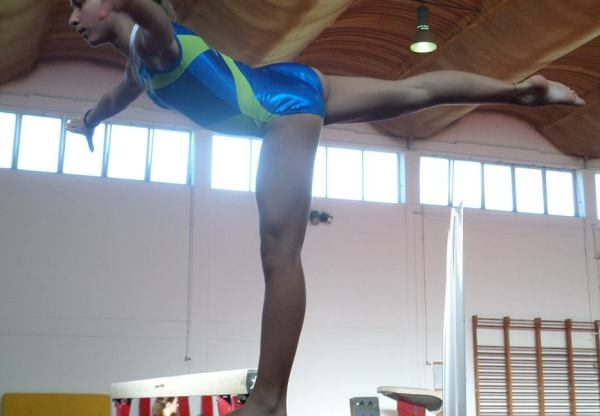 Madalena Moita apurada para os  Campeonatos Nacionais de Ginástica