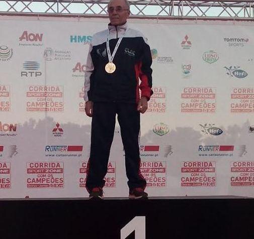 Manuel Maia Campeão Nacional de Estrada no escalão M7