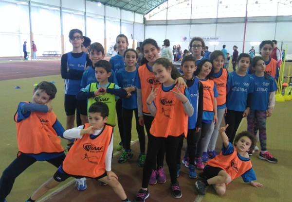 "CLAC no ""Kids Athletics"""