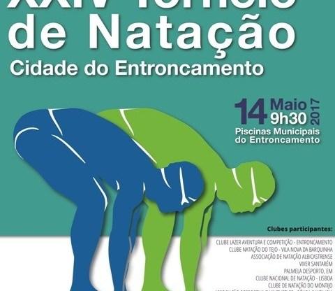XXIV TORNEIO DE NATAÇÃO CIDADE DO ENTRONCAMENTO