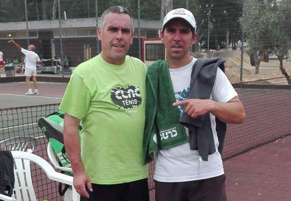 João Pimenta Coelho e António Lopes nas meias finais de Almeirim