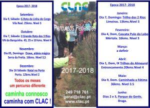 calendario P pedestre17-18