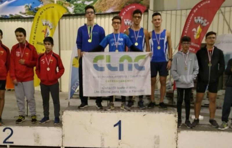 Estafeta masculina (CLAC)  é Campeã Regional de Juvenis