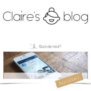 Vous avez vu mon nouveau blog ? Lien dans mahellip