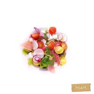 Un plat qui ressemble  un tableau bien color chezhellip