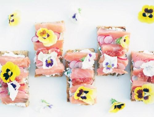 recette apéro dinatoire facile healthy joli fleurs comestibles (5)