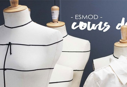 cours de fashion couture esmod