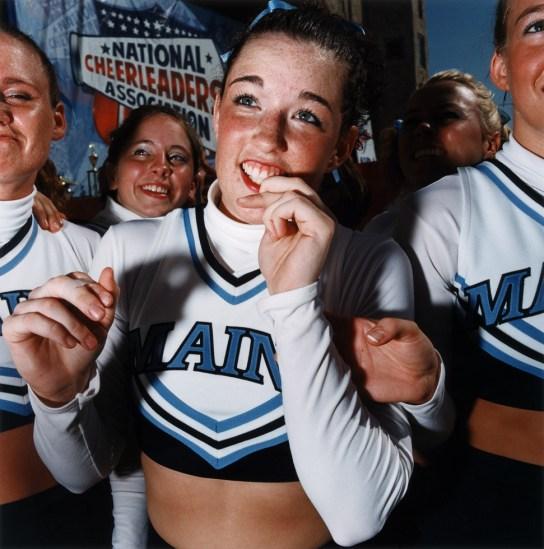 Brian Finke, Untitled (Cheerleading 19)