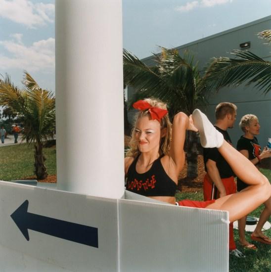 Brian Finke, Untitled (Cheerleading 13)