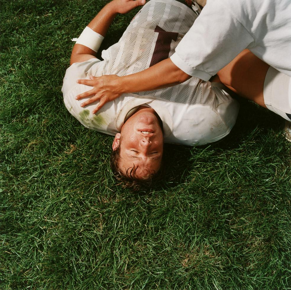 Brian Finke, Untitled (Football 106)