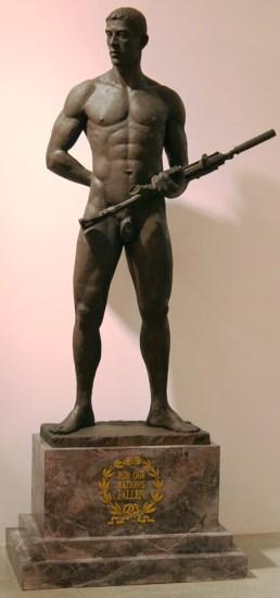 Mark Beard, Fallen Hero Statue