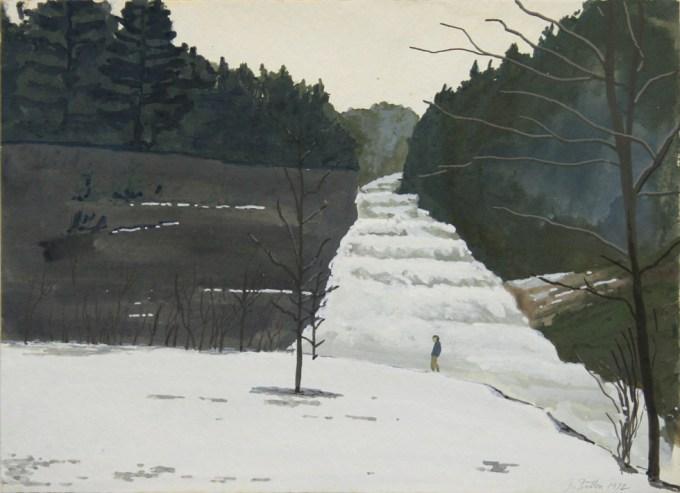 John Button, Buttermilk Falls, Ithaca, NY