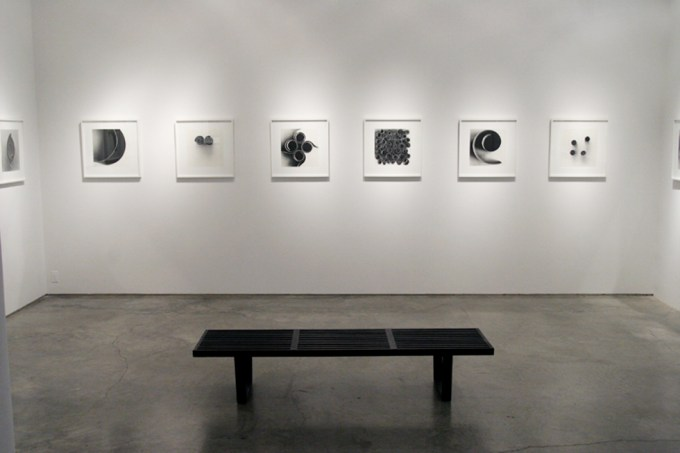 Ion Zupcu, New works on paper, Installation image 4