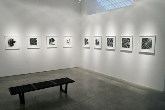 Ion Zupcu, New works on paper, Installation image 5
