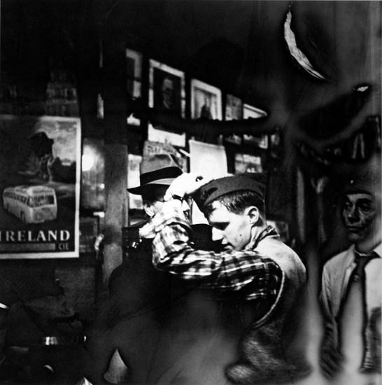 Arthur King, McSorley's, Man with Cap