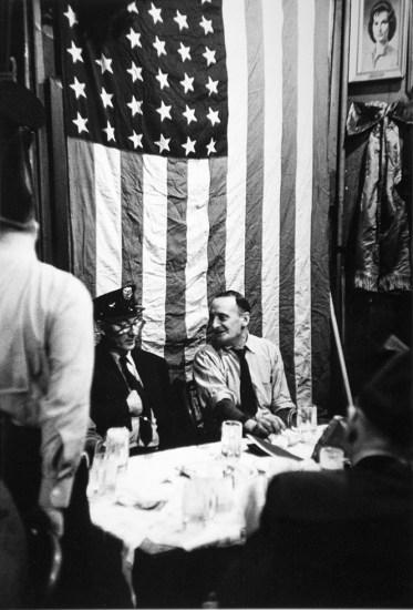 Arthur King, McSorley's, St. Patrick's Day Flag, New York City
