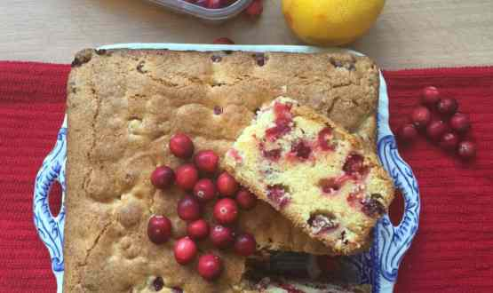 Cranberry and Orange Cake