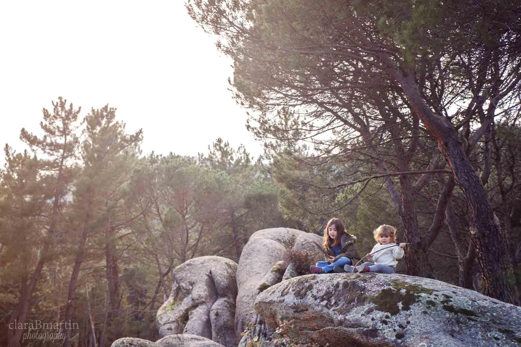 Bosques cerca de Madrid para ir con niños - La Pedriza