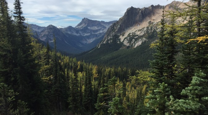 PCT Days 163-172: Washington Part II, Larches and Lurches