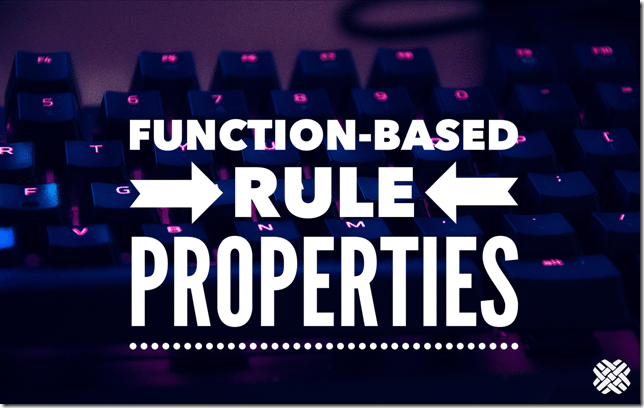 rule-properties