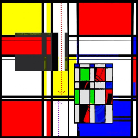 If Mondrian had an iPad #6