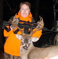 Ethan Giles' first buck harvested on his first hunt on opening day in Stewart County, Tennessee