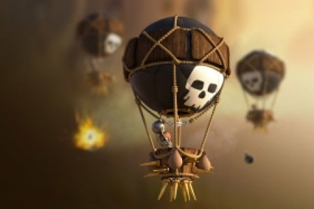 clash of clans balloon icon