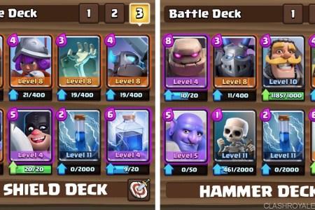 clan battle decks