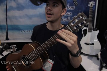 Journey Instruments Summer NAMM 2016 New Gear Classical Guitar Magazine