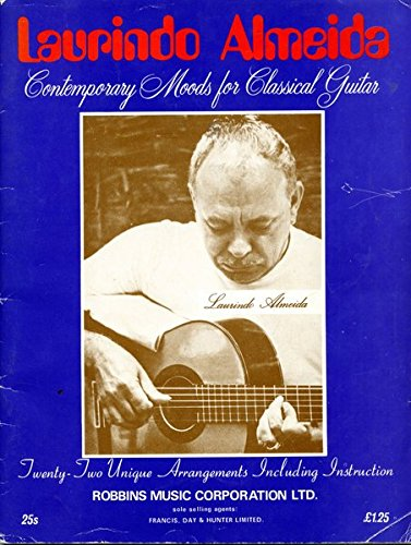 Contemporary Moods for Classical Guitar