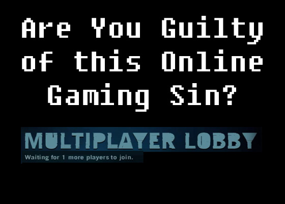 online gaming sin waiting for player to join