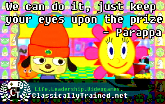 parappa the rapper video game quote videogames