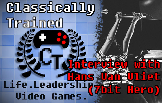 7bit hero interview Hans Van Vliet life lessons from video games