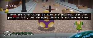 katamari quote life lesson pass faill