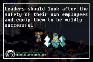 final fantasy tactics leadership lessons video games allegamy