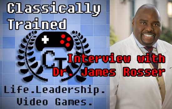 podcast leadership video games learning dr james rosser
