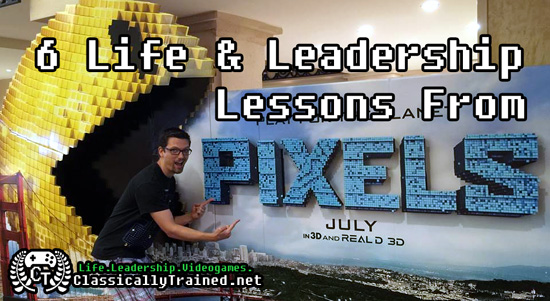pixles movie life leadership lessons video games arcaders