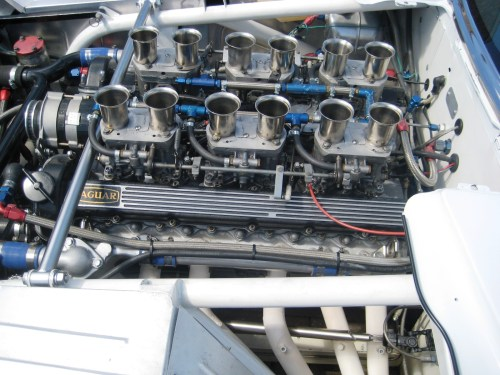 XJR-4 Engine LS Closer
