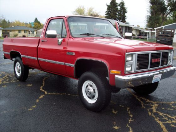1987 GMC Sierra Classic V2500 K20 3 4 ton 4x4 for sale in Spokane     1987 GMC Sierra Classic V2500 K20 3 4 ton 4x4 for sale in Spokane   Washington  United States