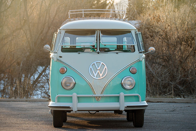 1963-Volkswagen-23-Window-Microbus-With-Camping-Trailer-3