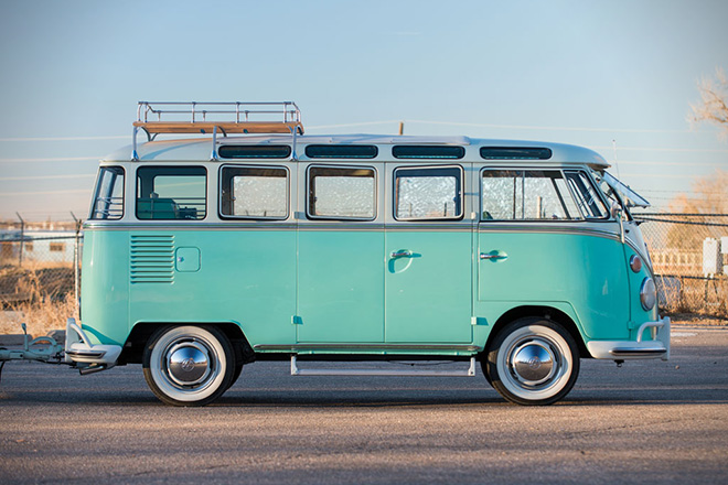 1963-Volkswagen-23-Window-Microbus-With-Camping-Trailer-8