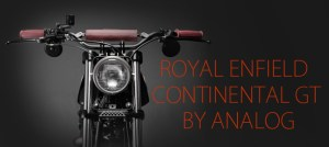 ROYAL ENFIELD CONTINENTAL GT de Tony Prust
