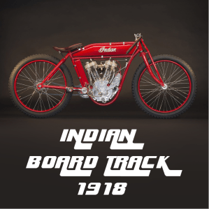 Indian Twin Board Track Racer de 1918