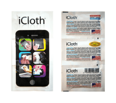 iCloth Cleaning Wipes: Cleaning Supply for Mobile Screen