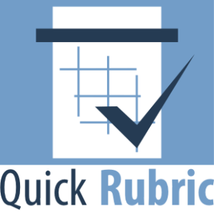 Create Rubrics Online with Quick Rubric Grading Tool 1