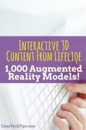 Interactive 3D Content from Lifeliqe: 1,000 Augmented Reality Models