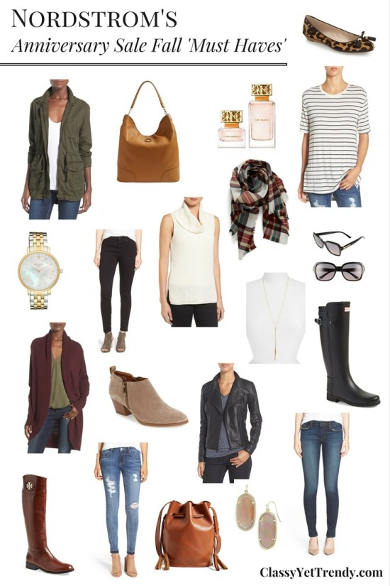 Nordstrom Anniversary Sale: Fall 'Must Haves'